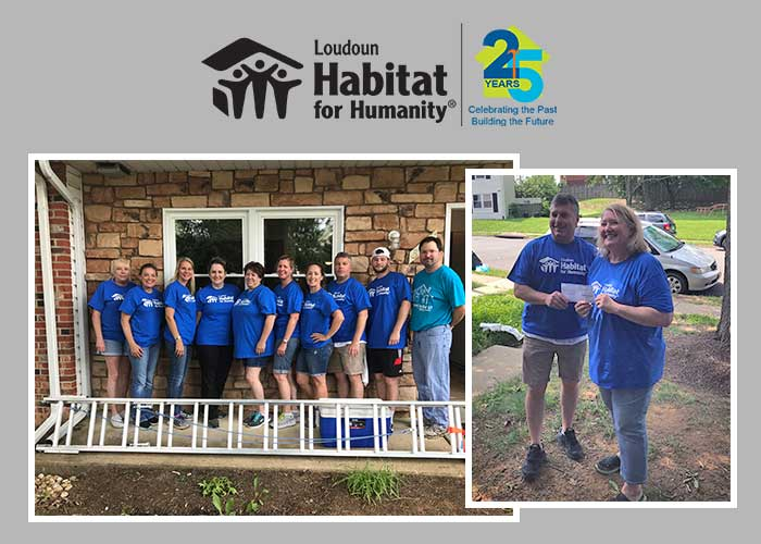 Loudoun Habitat Build June 7 2018