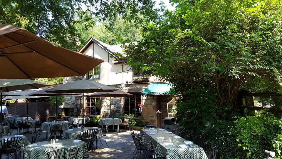 Old Angler's Inn back patio